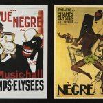 Affiches de Paul Colin pour le spectacle musical La Revue Nègre créée en 1925 au Théâtre des Champs-Elysées.