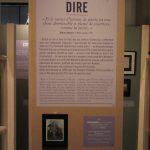 Cartel, exposition Péronne. Photo P. Blondeau