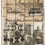 Untitled (Primrose Path, the Third Mind, p.12), 1965. Brion Gysin © Archives Galerie de France. William S. Burroughs © 2016, The William S. Burroughs trust. all rights reserved (© Los Angeles Country Museum of Art, Los Angeles / dist. rMn- Grand Palais / service presse Centre Pompidou)