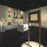 Vue de l'exposition : salle 2. Image : nicolas adam studio - architecte scénographe