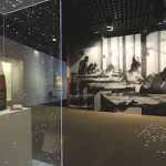 Vues de l'exposition: rotonde B. Image : nicolas adam studio - architecte scénographe
