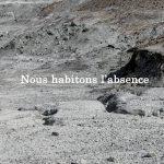 Michel Houellebecq, Inscriptions #012. Tirage pigmentaire (2016) sur papier Baryta, Contrecollé sur aluminium, 88,1 x 60 cm, Courtesy de l'artiste et Air de Paris, Paris.