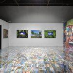 Vue de l'exposition de Michel Houellebecq, Rester vivant, Palais de Tokyo (23.06 – 11.09.2016). Photo : André Morin