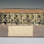 La « pascaline », la machine arithmétique de Pascal, 1645