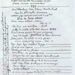 """Manuscrits du """"Mémorial"""" de Pascal (BNF Réserve des livres rares)"""