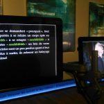 La pente de la rêverie, un poème, une exposition, vue de la salle 4. Texte de Vincent Broqua et lecture d'Isabelle Garron