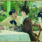 Édouard Manet, Chez le Père Lathuille. Huile sur toile, 1879. Musée des Beaux-Arts de Tournai.