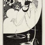 Aubrey Beardsley, J'ai baisé ta bouche Iokanaan, The Studio, n°1, avril 1893. Collection Merlin Holland