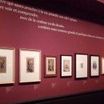 Vue de la salle 3, L'Œil de Baudelaire, Musée de la Vie romantique, Paris © Photo : Aude Jeannerod