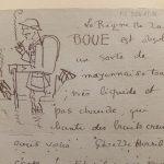 Lettre à Jeanne Derrien (20 février 1917). Photo A Reverseau