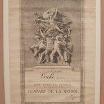 Diplôme « Mort pour la France » décerné à Jacques Vaché. Photo A Reverseau