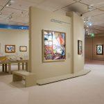 """Vue de la salle 4, """"Méditations esthétiques"""". Exposition Apollinaire. Le regard du poète (c) : musée de l'Orangerie / Sophie Boegly"""