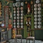 Détail du décor de la salle à manger d'Hauteville-Fairy, Maison de Victor Hugo, Paris ©