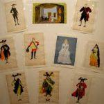Croquis de costumes de théâtre par Jean Hugo. Maison de Victor Hugo. M.-C. Régnier ©