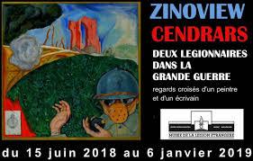 Zinoview – Cendrars : deux légionnaires dans la Grande guerre