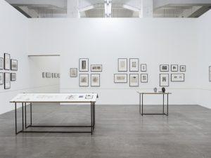 Installation view, Sophie Podolski: Le pays où tout est permis, WIELS, Brussels, 2018 © Kristien Daem