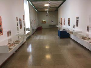 Couloir principal de l'exposition
