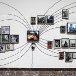 Entrée de l'exposition à Bozar détail © Yannick Sas
