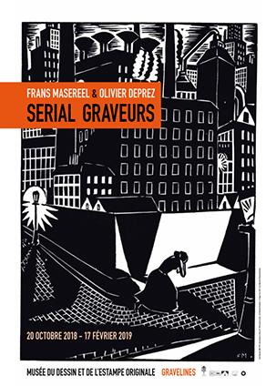 Serial graveurs: Frans Masereel & Olivier Deprez