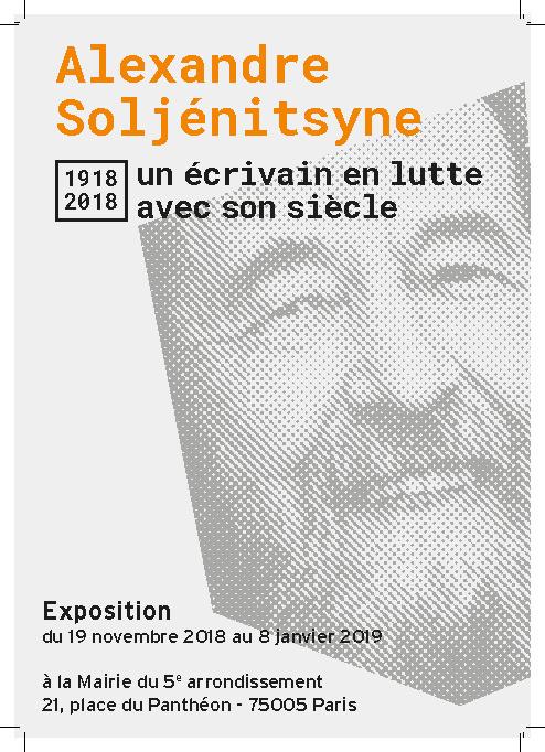 Alexandre Soljénitsyne, un écrivain en lutte avec son siècle