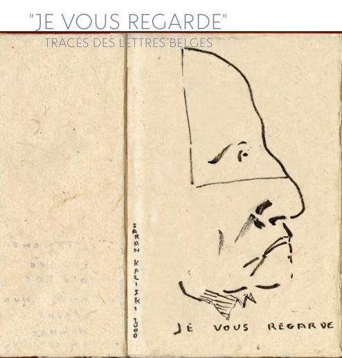 Je vous regarde: tracés des Lettres belges