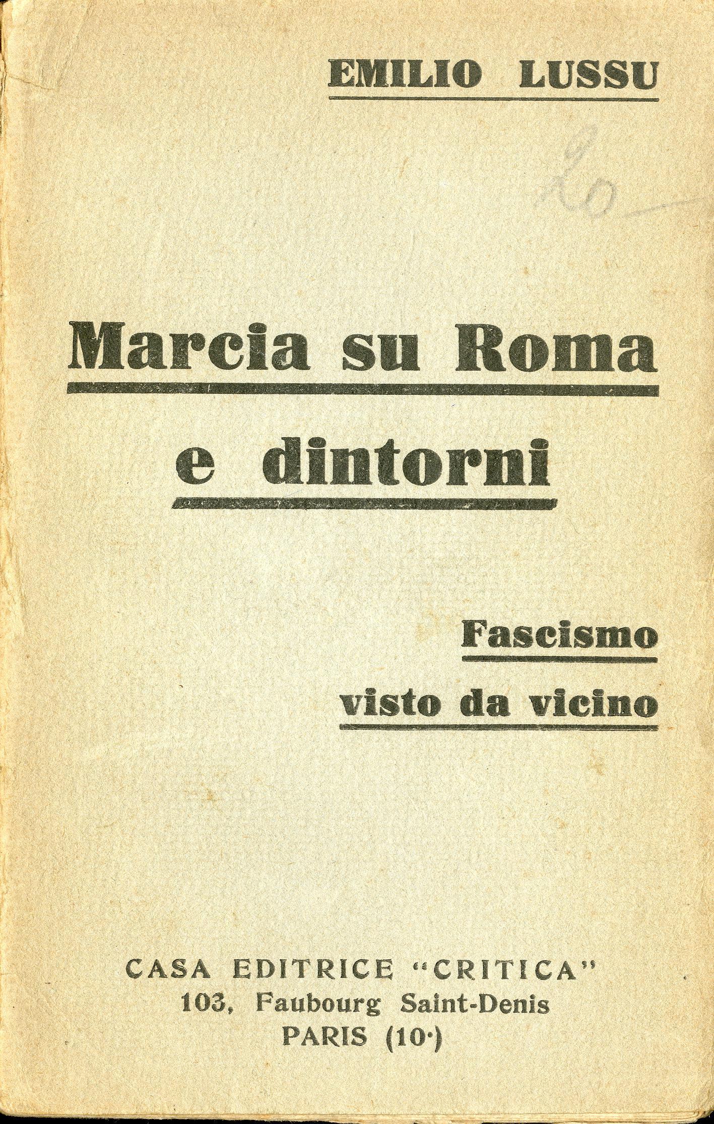 17. La montée du fascisme documentée