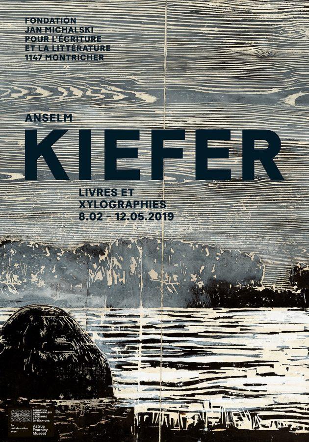 Anselm Kiefer   Livres et xylographies