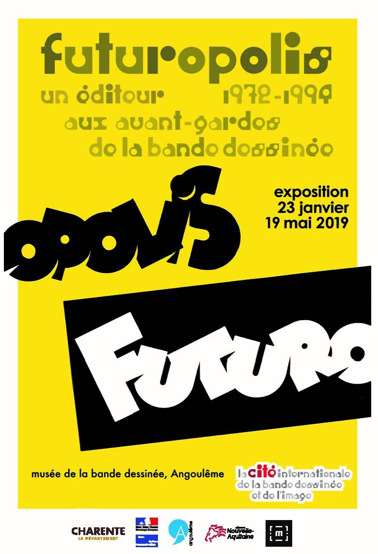 Futuropolis 1972-1994 : un éditeur aux avant-gardes de la bande dessinée