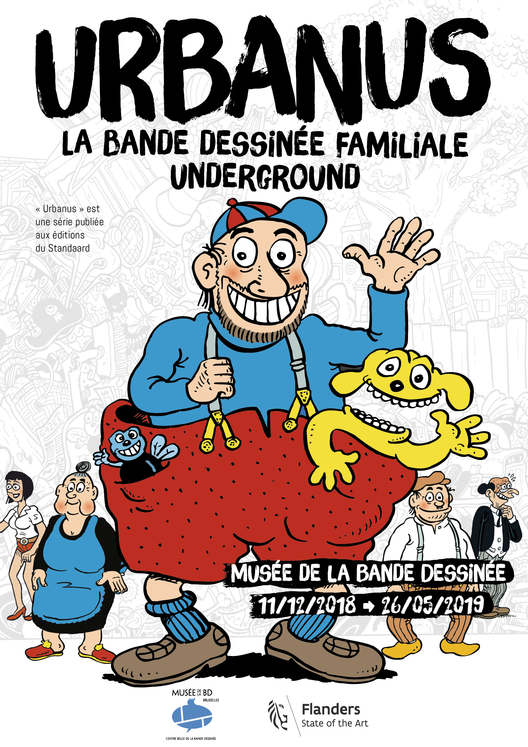 Urbanus : la bande dessinée familiale underground