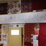 Vue de la salle présentant les coulisses de la restauration (photo MC Régnier)