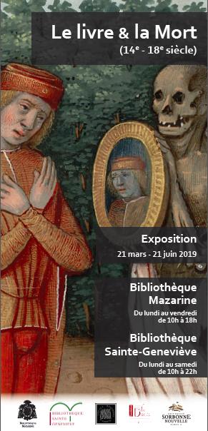 Le Livre & la Mort (14e – 18e siècle)