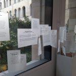 Vue de l'exposition : citations littéraires. Photo A. Chassagnol