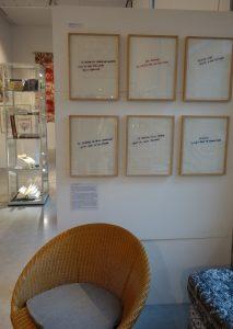 Vue de l'exposition. Photo A. Chassagnol