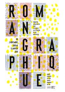 Affiche roman graphique