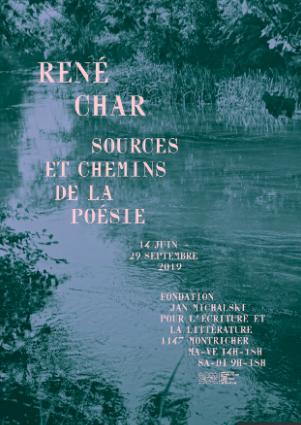 René Char. Sources et chemins de la poésie