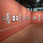 Expo Variétés, Arles, Vue d'ensemble salle rouge, DR