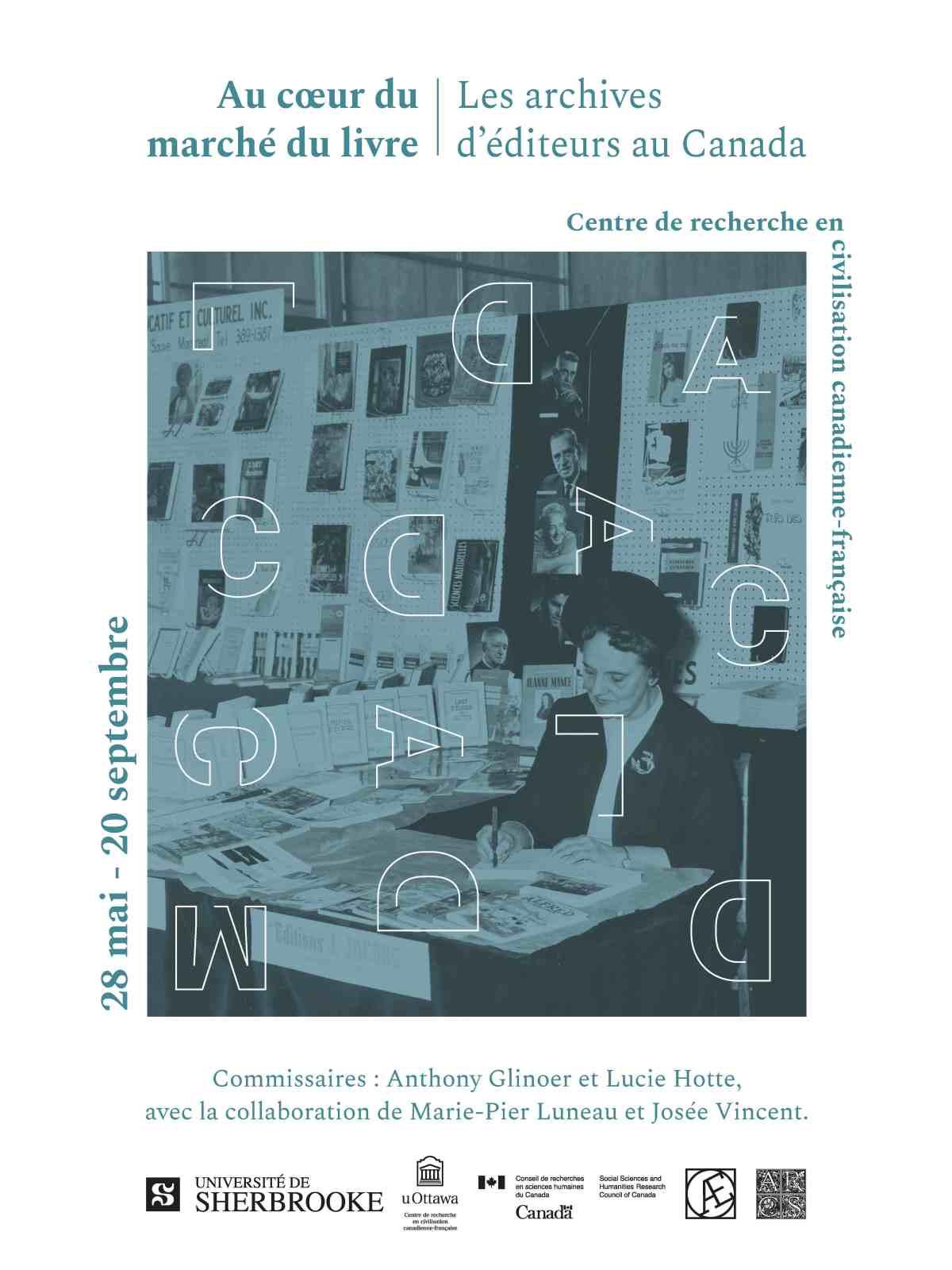 Au cœur du marché du livre : les archives d'éditeurs au Canada (Université d'Ottawa)