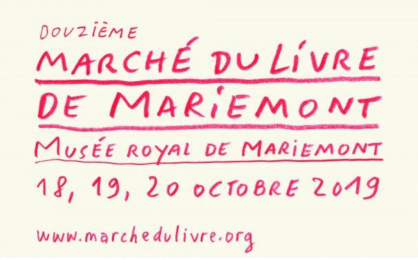 Marché du Livre de Mariemont – 12e Salon de la petite édition et de la création littéraire