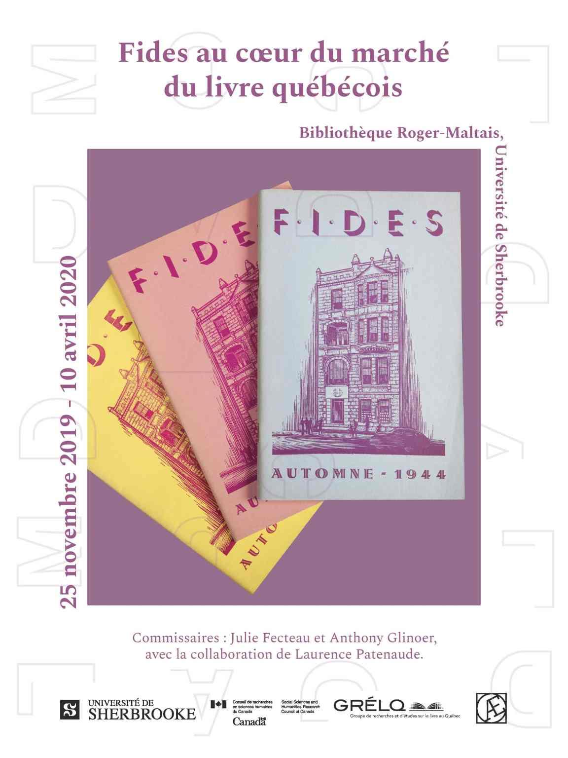 Fides au cœur du marché du livre québécois