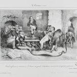 Estampe de Grandville © Maison de Balzac - Paris Musée