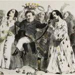 Honoré de Balzac, le plus fécond de nos romanciers, soutenu et couronné par des femmes qui avaient 30 ans il y a dix ans. D'après Grandville. Photographie anonyme. Reproduction photomécanique. Paris, Maison de Balzac. © Maison de Balzac - Paris Musée