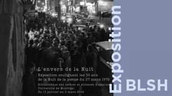 L'envers de la Nuit : les 50 ans de la Nuit de la poésie du 27 mars 1970