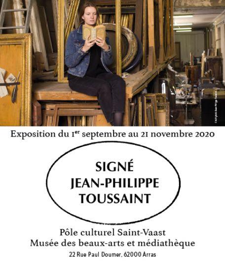 Signé Jean-Philippe Toussaint