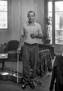Pascal QUIGNARD, Paris aout 1987 - Photo Despatin & Gobeli