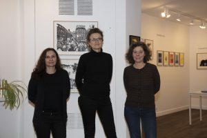 Sabine Louali, Brigitte Morel et Laurence Carrion, l'équipe des Grandes Personnes. © Francesca Mantovani / Editions Gallimard