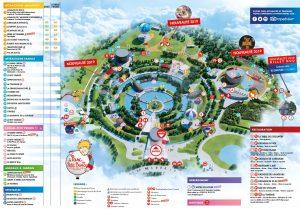 Plan du parc, février 2021
