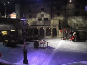 Cour centrale, Dickens World, mai 2012