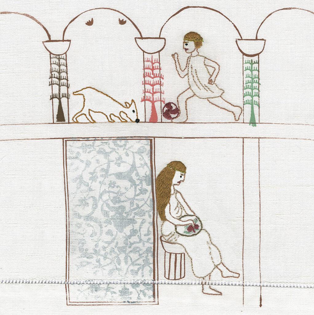 Pages textiles — Louise-Marie Cumont & Sandra Dufour