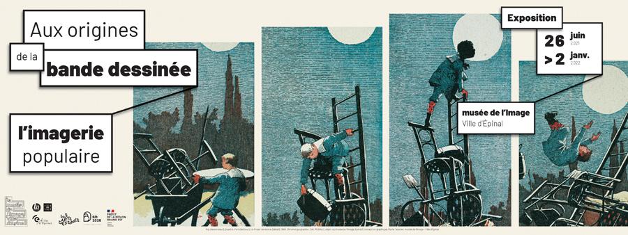 Aux origines de la bande dessinée : l'imagerie populaire
