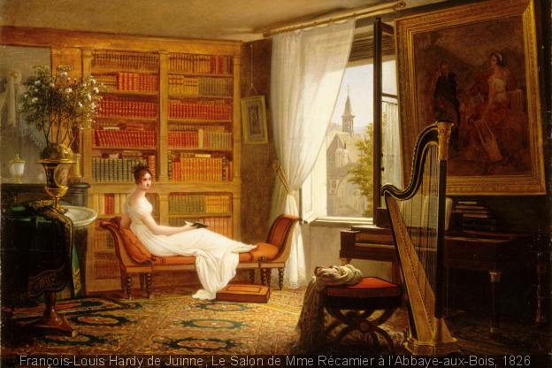 Les salons littéraires du Paris Romantique